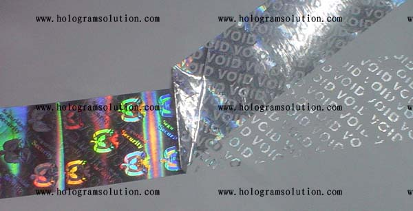 security transparent holographic ID card samples 2